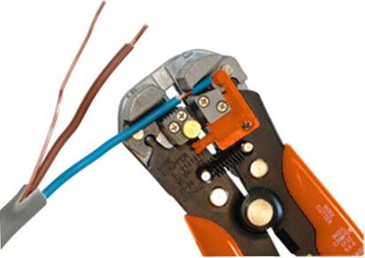 profesjonalne szczypce do sptripowania kabli, zdejmowania izolacji z przewodów ekranowych