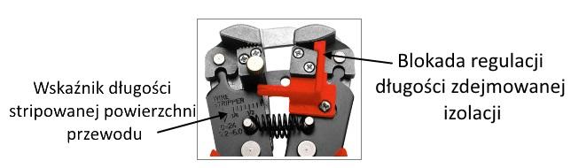 profesjonalne szczypce dla elektryka, elektronika