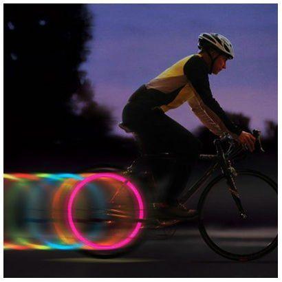Lampka Led Nakładka Na Szprychy Do Roweru Bumerang